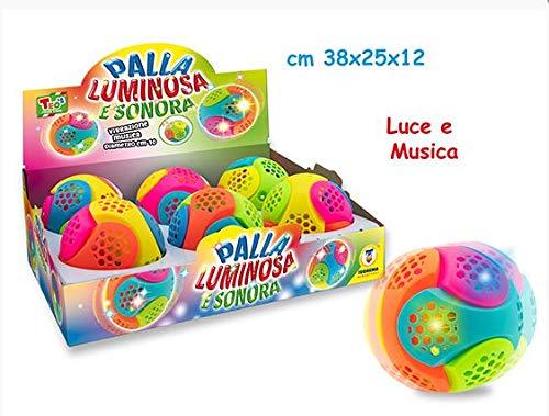 Teorema Palla Sonora in Display con Luci E Suoni Cubi Magici, Molle, Multicolore, 8017967660590