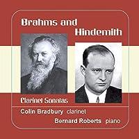 Brahms Hindemith Clarinet Sonatas