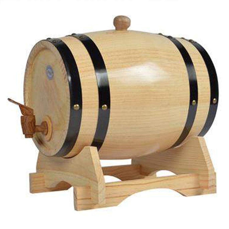 課税倫理保護RUOLHピュアオークバレル、3L / 5L真に木製の樽内部ベーキングオークキャスク、貯蔵または熟成用ワイン&スピリッツ&ドラフトビール