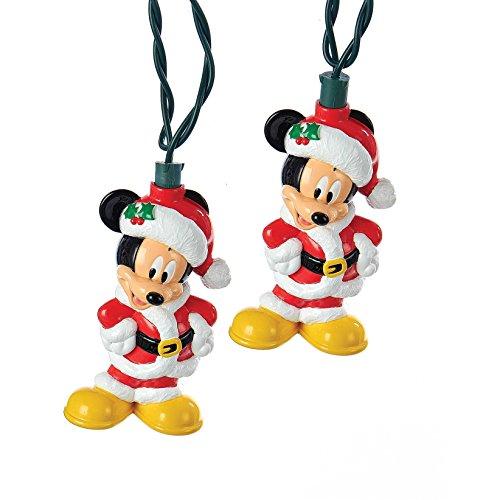 Kurt Adler Funciona con Pilas 6-Light Mickey Mouse LED Juego de Luces