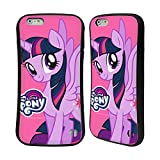 Head Case Designs Officially Licensed My Little Pony Twilight Sparkle Solo Character Art Hybrid Case Compatible with Apple iPhone 6 Plus/iPhone 6s Plus