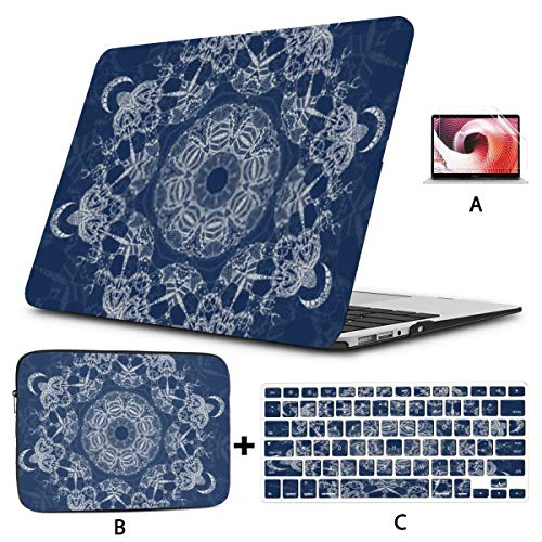 MacBook Case 15' Old Pro Retina 2012-2015 A1398,3D Rendering Abstract Fast Moving Stripe Plastic Hard Shell,Sleeve Bag,Keyboard Cover,Screen Protector,4 in 1 Laptop Case