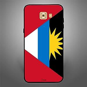 Zoot Designer Cover for Samsung Galaxy C9 Pro (Antigua Flag)
