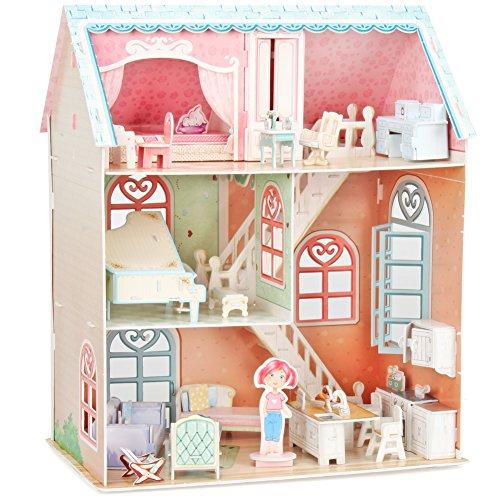 CubicFun p684h–3D Puzzle La Casa Delle Bambole la Pianista 3Niveles