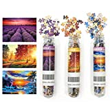 3 Pack Landscape Mini Jigsaw Puzzles 150 Pieces for Adults Small Jigsaw Puzzle 6 x 4 Inches House Entertainment Toys Home Decor Puzzles