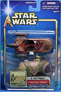 Dune Sea Ambush Star Wars a New Hope Action Fleet with Landspeeder