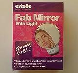 Estelle Espejo de Aumento con luz. Doble Cara