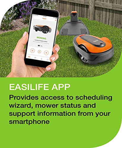 Flymo EasiLife 200 Robotic Lawn Mower Mowing Features