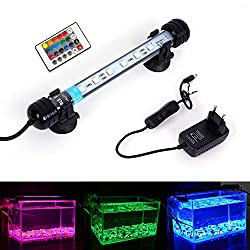 MLJ-Aquarium-Beleuchtung-LED-Aquarium-Leuchte-18-112-cm-Wasserdicht-Aquarium-Lampe-Stecker-EU-Unterwasser-LED-Lichtbalken-fr-Fisch-Tank