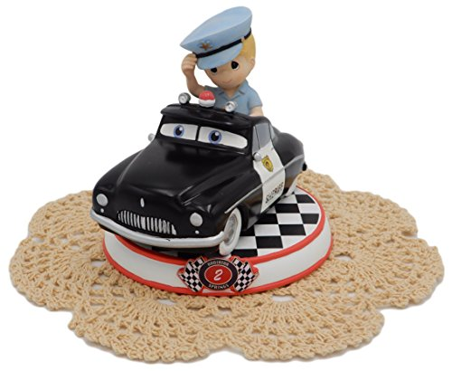 Precious Moments Disney Showcase Cars Collection Resin Figurine with Westbraid Doily (#2, Sheriff, 164432)