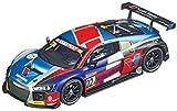Carrera Evolution 1: 32 Scale Analog Slot Car Racing Vehicle - 27592 Audi R8 LMS No. 22A