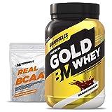 Bigmuscles Nutrition Premium Gold Whey 1Kg [Belgian Chocolate] |Whey Protein Isolate & Whey Protein...