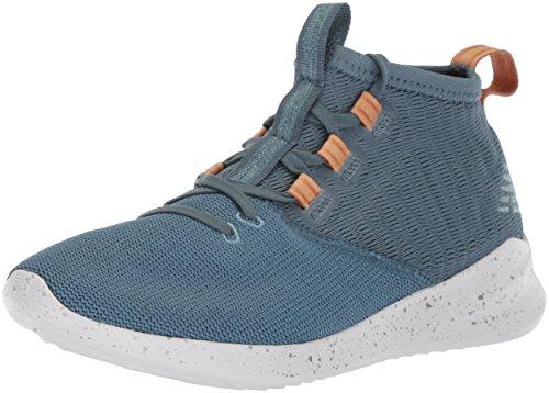 New Balance Women's Cypher Run V1 Sneaker, Light Petrol/Veg tan Leather, 6 B US