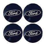 Emblema de aleación para los tapacubos de las ruedas con el logotipo de Ford, 4 unidades