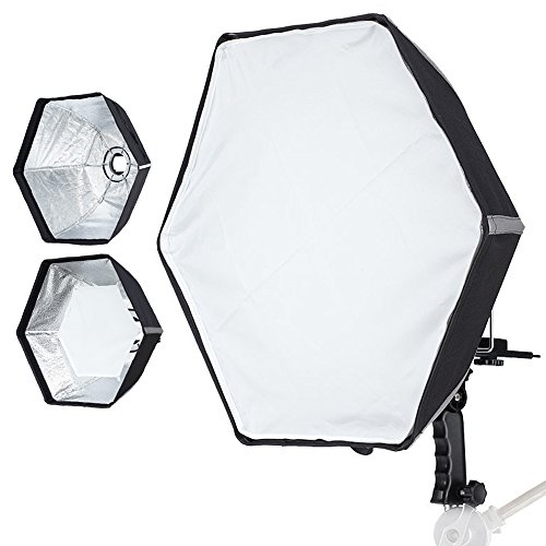 "Selens 20""/ 50cm Hexagon Quick Setup Umbrella Softbox Diffuser for Speedlite, Studio Flash, Speedlight Photography"