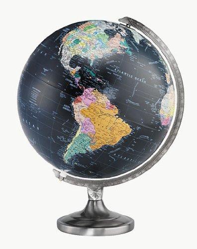 "Replogle Globes 12"" Orion Globe, Black"