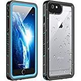Huakay iPhone 6s Plus Waterproof Case iPhone 6 Plus Waterproof Case, Shockproof Dirtproof 360° Full Body Protection...