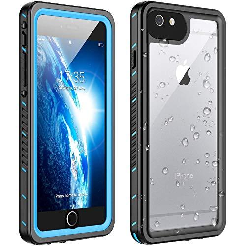 Huakay iPhone 6s Plus Waterproof Case iPhone 6 Plus Waterproof Case, Shockproof Dirtproof 360° Full Body Protection Waterproof for iPhone 6s Plus/iPhone 6 Plus
