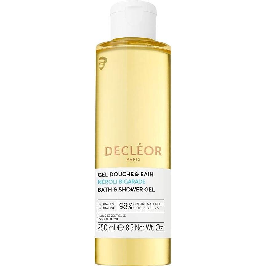 繊維主張後継[Decl?or ] デクレオールネロリBigaradeバス&シャワージェル250ミリリットル - Decleor Neroli Bigarade Bath & Shower Gel 250ml [並行輸入品]