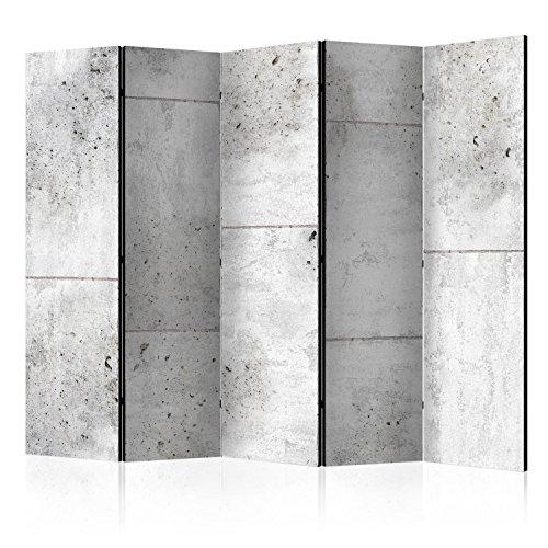 murando Paravent 225x172 cm Une Seule Côté Impression sur Toile intissée 100% Opaque Foto Paravent Décoratif en Bois avec Interieur Impression Home Office f-C-0011-z-c