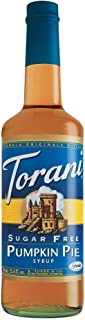 torani sugar free pumpkin pie syrup