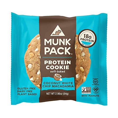 Munk Protein Cookie Kokos weiße Schokolade Macadamia 84g x 6