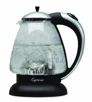 Capresso 259.04 H2O Plus Water Kettle Matte Silver 48-Ounce