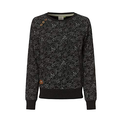 Ragwear Damen Bio Sweatshirt Pullover Johanka Größe: XS Farbe: Grey