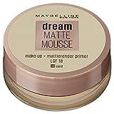 Maybelline New York Make Up, Dream Matte Mousse Make-Up, Mattierend, Nr. 30 Sand