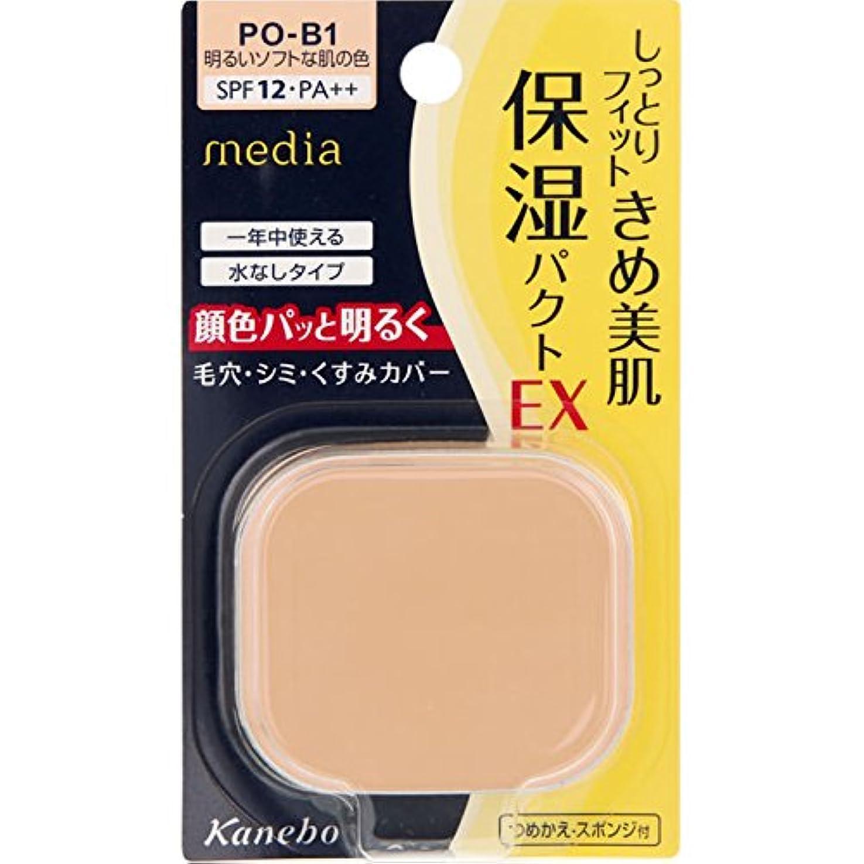 振るう経過先見の明カネボウ メディア モイストフィットパクトEX<つめかえ> PO-B1(11g)