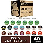 Keurig k-cup pod variety pack, single-serve coffee k-cup pods, amazon exclusive, 72 count 17 includes: 3 k-cup pods from 20 popular varieties, including green mountain coffee breakfast blend, the original donut shop regular, newman's own organic special blend, caribou coffee caribou blend, tully's coffee italian roast, and many more variety: sample different coffees and discover your favorites from a wide variety of roasts, flavors, and brands compatibility: contains authentic keurig k-cup pods, engineered for guaranteed quality and compatibility with all keurig k-cup coffee makers