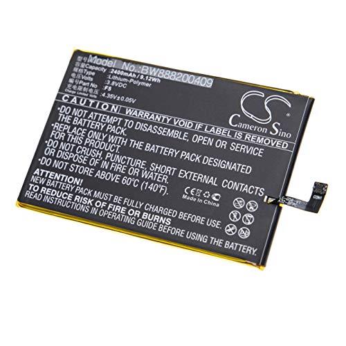 vhbw batería Compatible con Doogee F5 para Smartphone (2400mAh, 3.8V, Litio polímero)