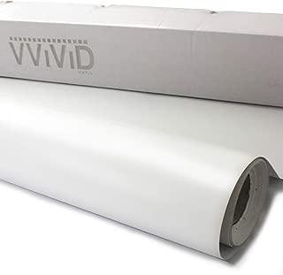 VViViD Clear Lamination Vinyl Roll for Die-Cutter and Vinyl Plotter (Matte Finish, 12
