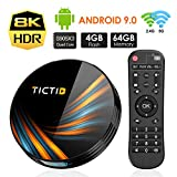 TICTID Android 9.0 TV Box 【4G+64G】 S905X3...