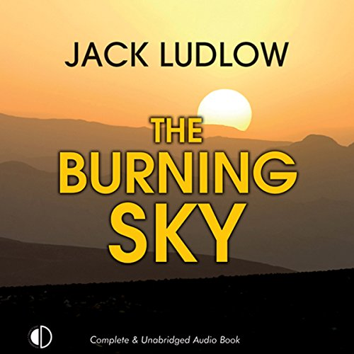 The Burning Sky audiobook cover art