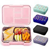 Simple Modern Porter Bento Lunch Box for Kids - Leakproof Divided Container with 5 compartments for...