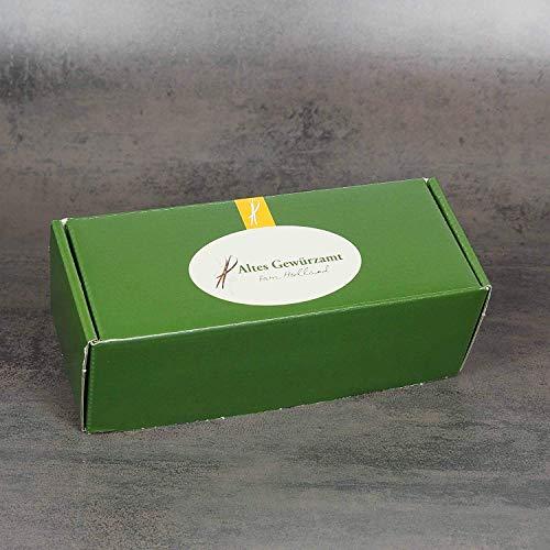 Altes Gewürzamt Gewürz Geschenk-Box klein - Fischküche - Fischgenuss, Gewürzsalz Bouillabaisse, Gewürzsalz Kräuter und Zitronen-Pfeffer