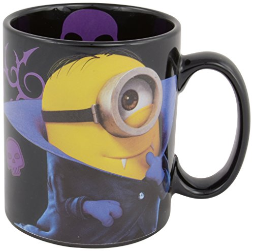 MINIONS Vampir Tasse: Sorry I'm Bad, 320 ml, schwarz