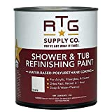 Attractive low-sheen finish makes faded, unsightly shower stalls and tubs visually appealing and looking like new in just one day. Great for DIYers and house flippers! A fast, easy, economical alternative to expensive reglazing or bathtub replacement...