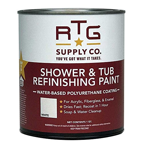 RTG Shower & Tub Refinishing Paint (White)