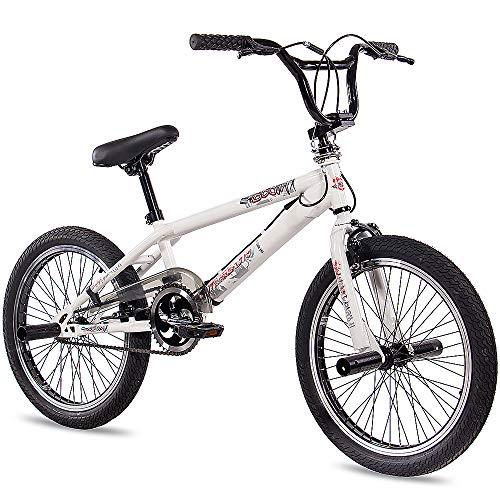 Kcp Bmx Kcp Doom - Bicicleta Infantil, Rotor 360 Freestyle, Color Blanco, 50,8&Nbsp;Cm (20&Nbsp;Pulgadas)