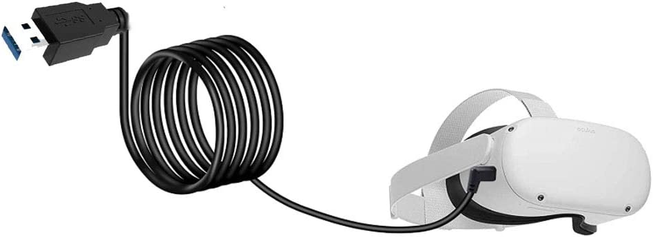 Oculus Quest 2 VR Stream Link USB 3.1 Type C Cable Quest Link PC for Oculus Headset Play VR Stream no lag 10FT