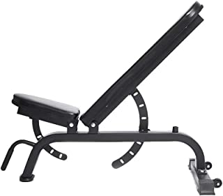Commercial Adjustable Incline and Flat Bench Press and Ab Machine Gym Equipment