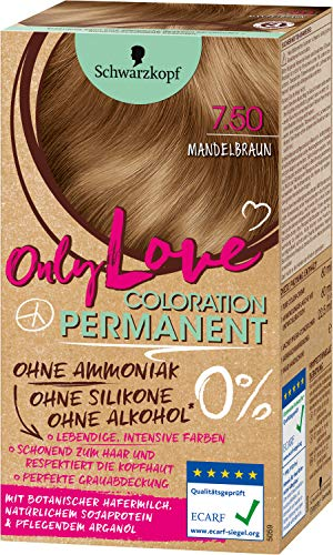 Schwarzkopf Only Love Coloration 7.50 Mandelbraun, 143 ml