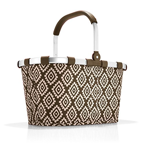 reisenthel carrybag diamonds mocha Maße: 48 x 29 x 28 cm/Volumen: 22 l