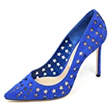 C8904 Decollete Donna JIMMY CHOO Romy 100 Scarpa forata Shoe Woman [37.5]