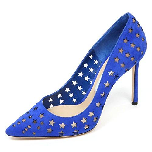 Jimmy Choo C8904 Decollete Donna Romy 100 Scarpa forata Shoe Woman [37.5]