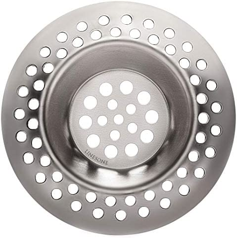 Lines One Portable Steel Hair Catcher Standard Strainer Drain Protector from Clog for Bathroom product image