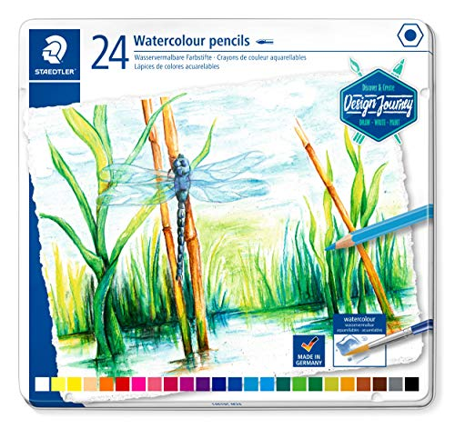 Lapices Colores Acuarelables Marca STAEDTLER