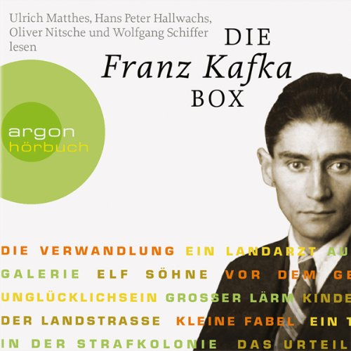 Die Franz Kafka Box audiobook cover art